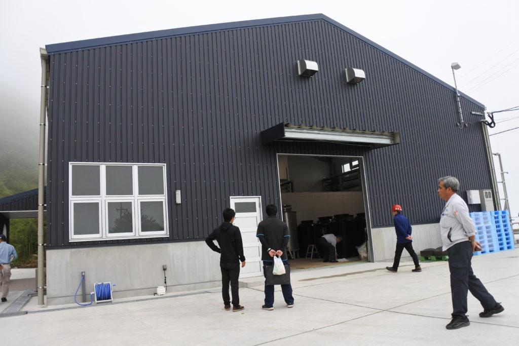 全国に類をみない村営焼酎蔵が2018年秋に稼働します