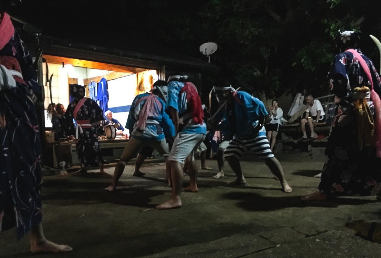 三島村踊り文化